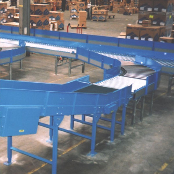 Amber Automation Belt & roller conveyors