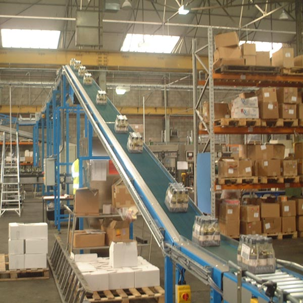 Amber Automation Inclined belt conveyors