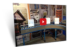 Amber Industries Demo Conveyor at IMHX