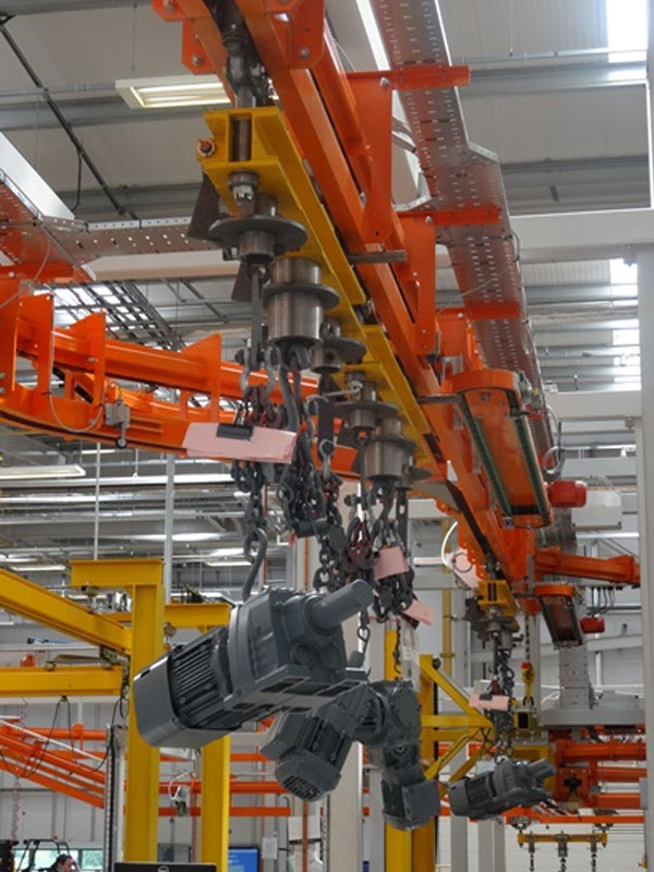 Automated Conveyor System For SEW Eurodrive