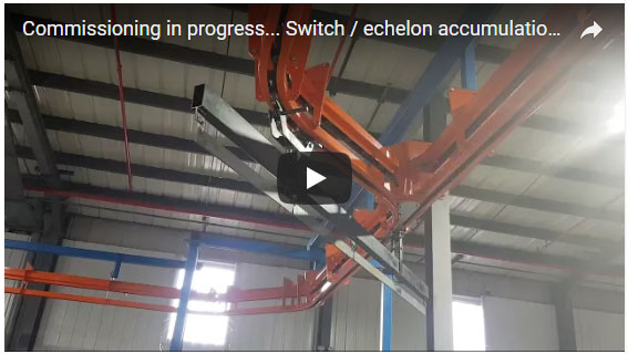 Switch and Echelon Accumulation System Commissioning