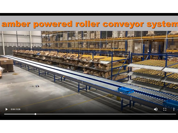 Powered Roller Conveyor System Installation Completed