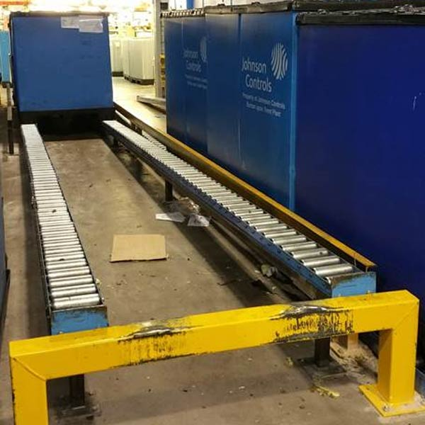 Gravity Roller Pallet Conveyor