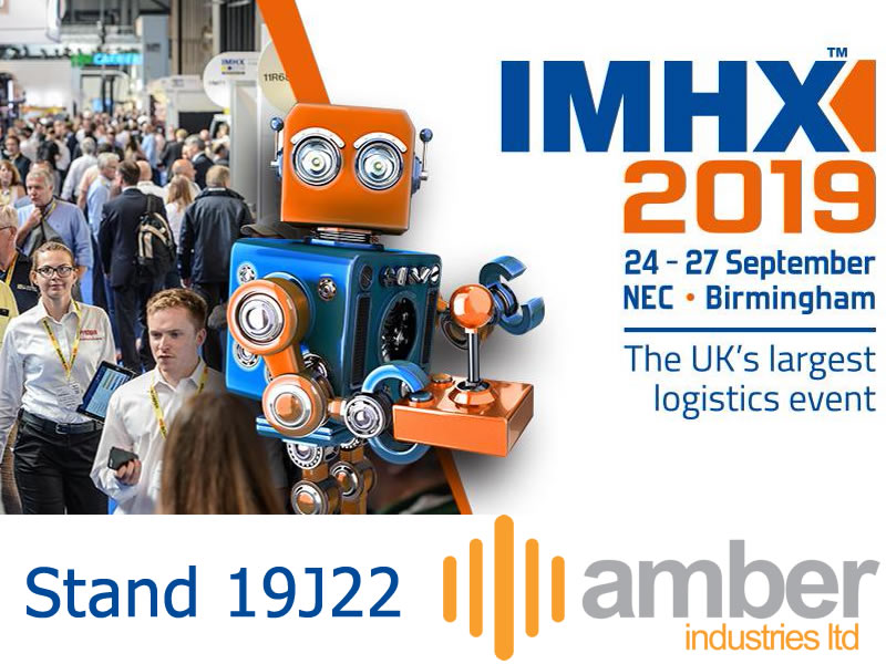 Amber Industries Exhibiting At IMHX 2019 24 -27 September