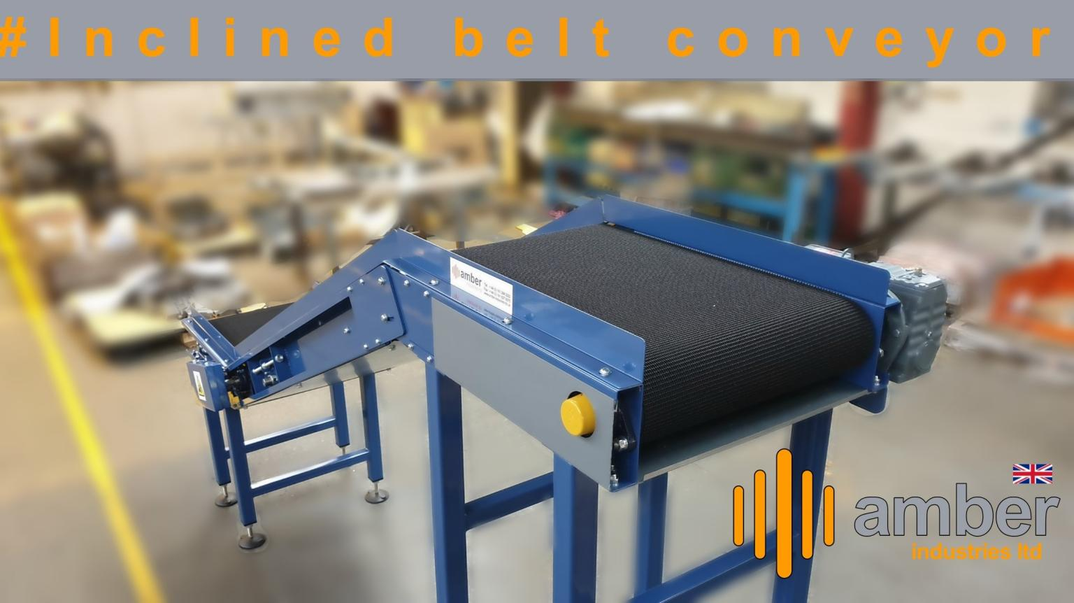 Inclined Belt Conveyors Order Fulfilled