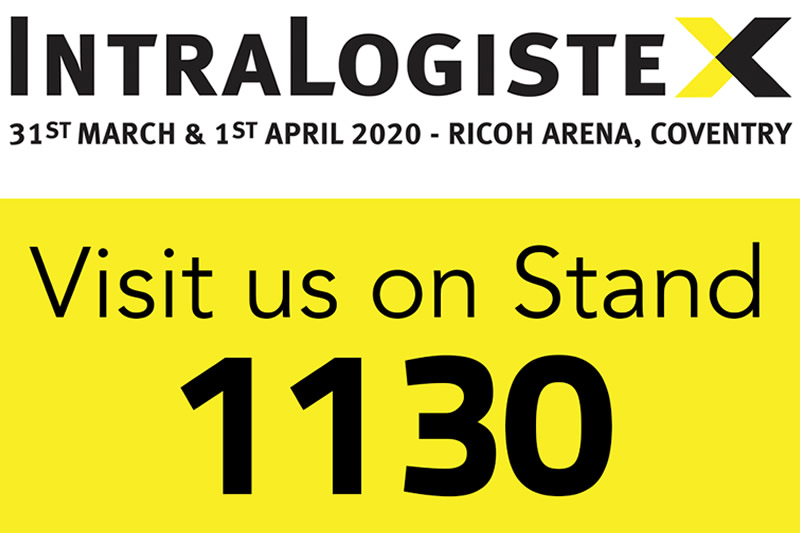 Visit Us At IntralogisteX 2020 @ The Ricoh Arena