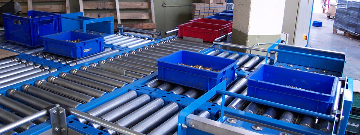 Lineshaft Powered Roller Conveyor Systems