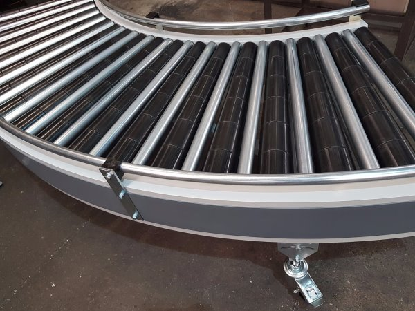 Mobile Conveyors Curved To Suit Your Specification