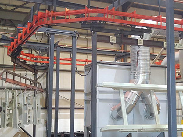 Sandvik Paint Plant Conveyor