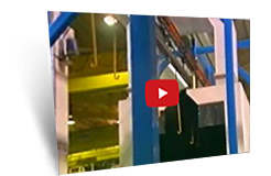 Open Chain Powertrack Overhead Conveyor System