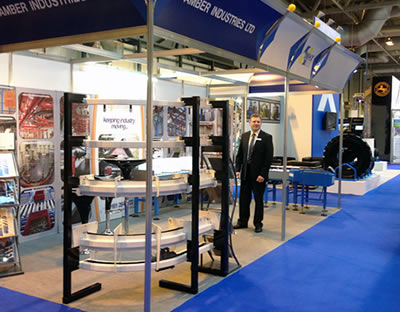 Success for Amber Industries at IMHX