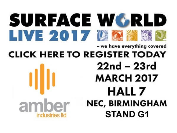 Amber Industries To Exhibit At Surface World