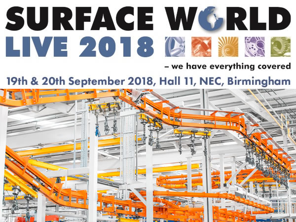 Visit us at Surface World @ The NEC