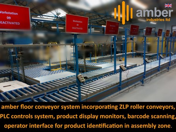 Complete Turnkey Floor Conveyor System Project