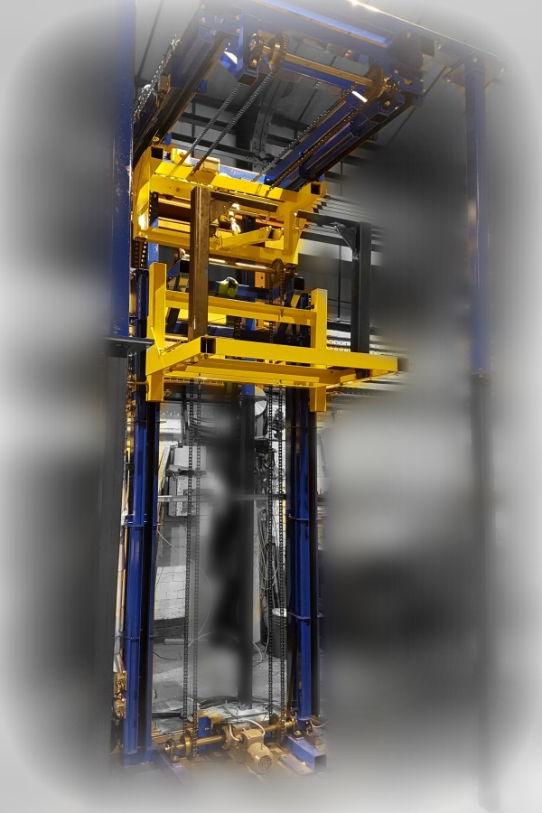 Tecomet Choose Amber For A Vertical Lift With Integrated Transfer Unit